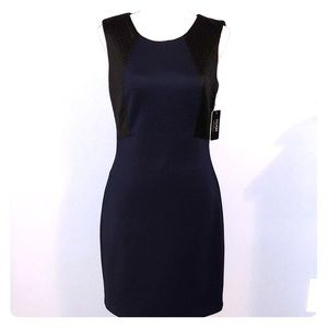 Sexy backless New Guess quilted sheath dress NWT